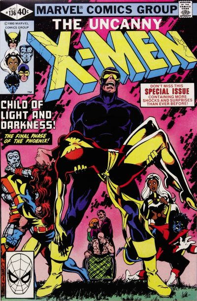 Cover for The X-Men (Marvel, 1963 series) #136 [Direct Edition]