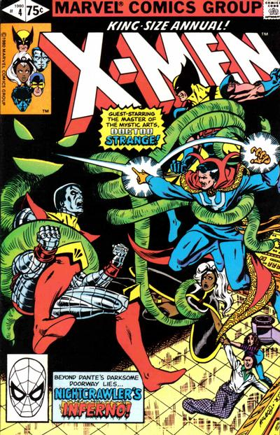 Cover for X-Men Annual (1970 series) #4 [Newsstand]