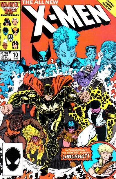 Cover for X-Men Annual (Marvel, 1970 series) #10 [Newsstand Edition]