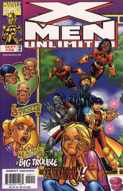 Cover for X-Men Unlimited (Marvel, 1993 series) #20 [Newsstand Edition]