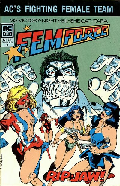 Cover for FemForce (AC, 1985 series) #2