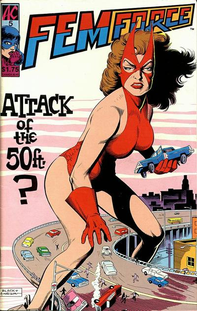 Cover for FemForce (AC, 1985 series) #5