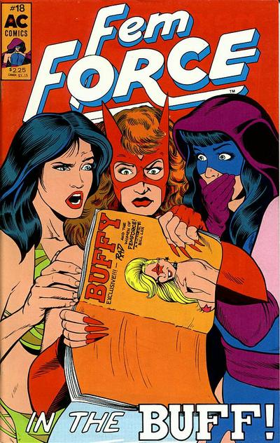 Cover for FemForce (AC, 1985 series) #18
