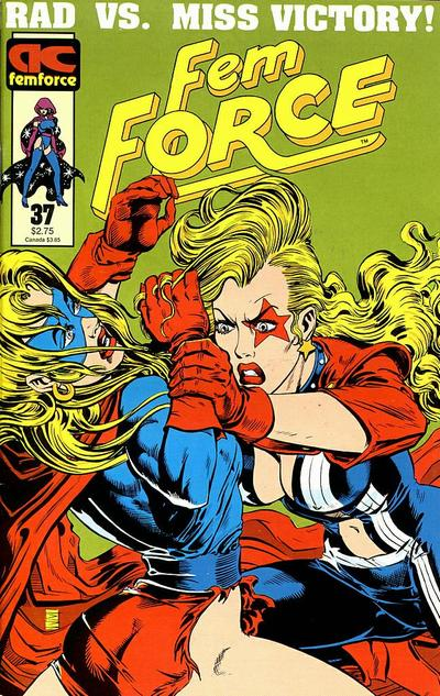 Cover for FemForce (AC, 1985 series) #37
