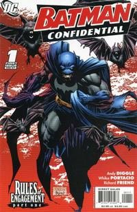 Cover Thumbnail for Batman Confidential (DC, 2007 series) #1