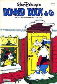 Cover Thumbnail for Donald Duck & Co (Hjemmet, 1948 series) #52/1977