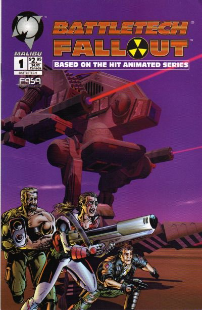 Cover for Battletech: Fallout (1994 series) #1