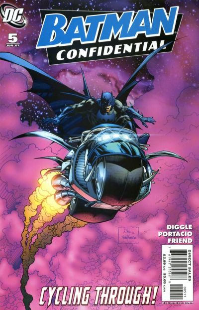 Cover for Batman Confidential (DC, 2007 series) #5