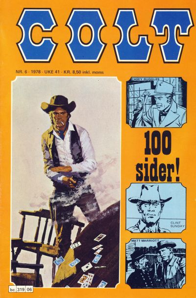 Cover for Colt (Semic, 1978 series) #6/1978