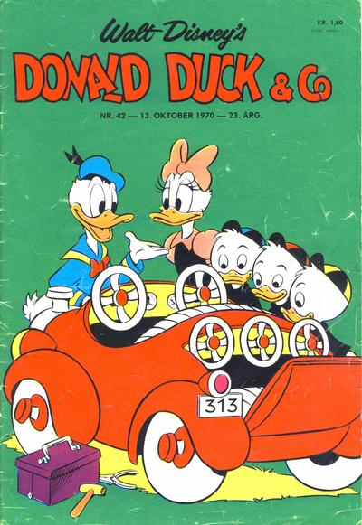 Cover for Donald Duck &amp; Co (1948 series) #42/1970