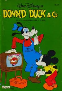 Cover Thumbnail for Donald Duck & Co (Hjemmet, 1948 series) #47/1980