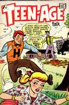 Cover for Teen-Age Talk (I. W. Publishing; Super Comics, 1958 series) #8