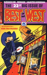 Cover Thumbnail for Best of the West (AC, 1998 series) #22