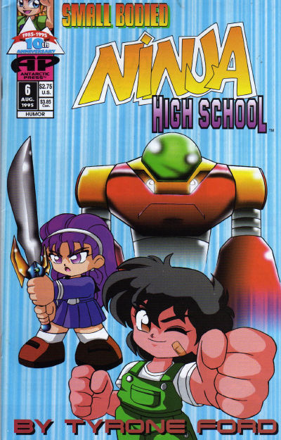 Cover for Small Bodied Ninja High School (1992 series) #6