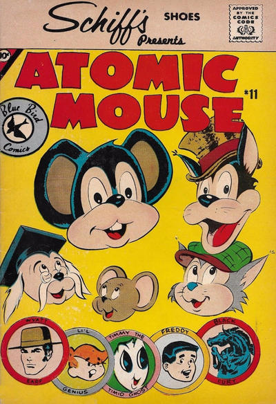 Cover for Atomic Mouse (Charlton, 1961 series) #11