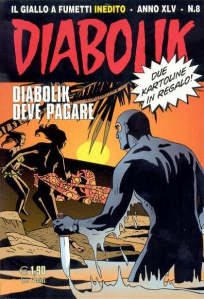 Cover for Diabolik Anno XLV (Astorina, 2006 series) #8