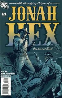 Cover Thumbnail for Jonah Hex (DC, 2006 series) #14
