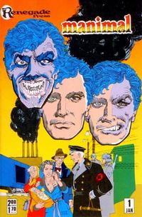 Cover Thumbnail for Manimal (Renegade Press, 1986 series) #1