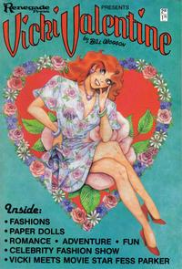 Cover Thumbnail for Vicki Valentine (Renegade Press, 1985 series) #1