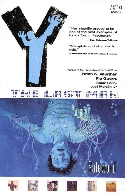 Cover for Y: The Last Man (DC, 2003 series) #4 - Safeword [First Print]