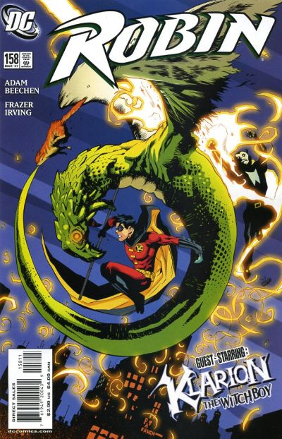 Cover for Robin (DC, 1993 series) #158