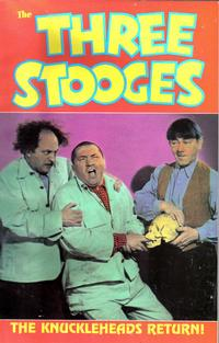 Cover for The Three Stooges (1989 series) #1 - The Knuckleheads Return