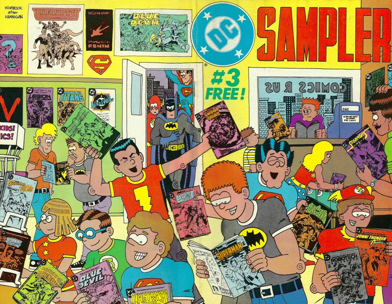 Cover for DC Sampler (1983 series) #3