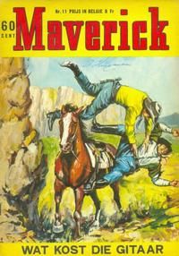 Cover Thumbnail for Maverick (Classics/Williams, 1964 series) #11