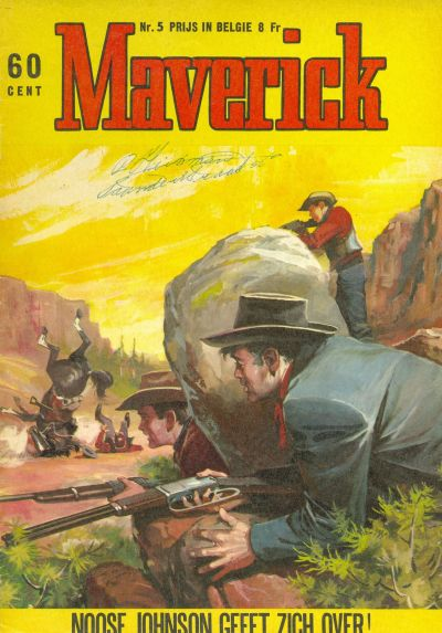 Cover for Maverick (Classics/Williams, 1964 series) #5