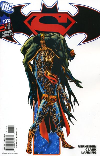 Cover for Superman / Batman (DC, 2003 series) #32