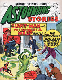 Cover Thumbnail for Astounding Stories (Alan Class, 1966 series) #29
