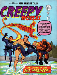 Cover Thumbnail for Creepy Worlds (Alan Class, 1962 series) #34