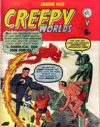Cover Thumbnail for Creepy Worlds (Alan Class, 1962 series) #130