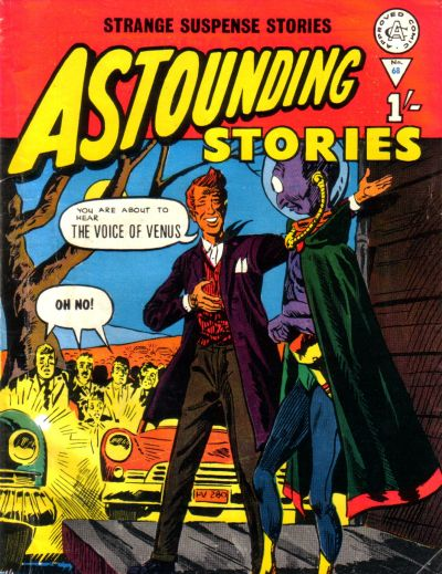 Cover for Astounding Stories (Alan Class, 1966 series) #68