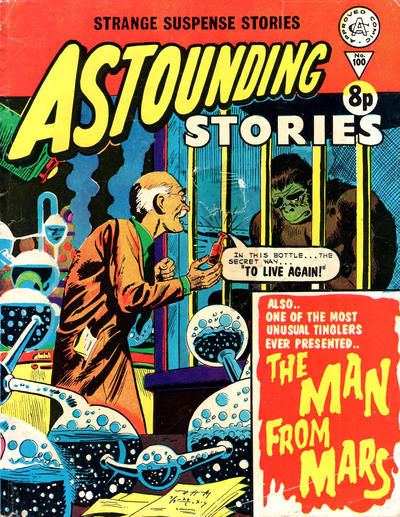 Cover for Astounding Stories (Alan Class, 1966 series) #100