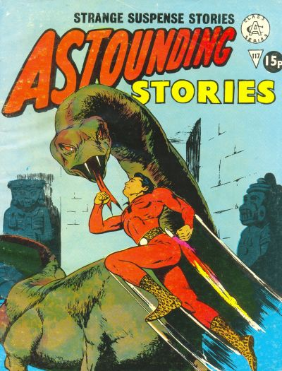 Cover for Astounding Stories (Alan Class, 1966 series) #117