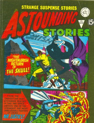 Cover for Astounding Stories (Alan Class, 1966 series) #122