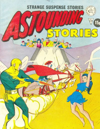Cover for Astounding Stories (Alan Class, 1966 series) #125