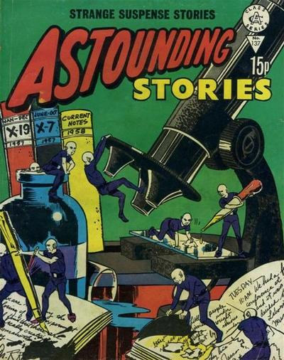 Cover for Astounding Stories (Alan Class, 1966 series) #137