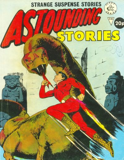 Cover for Astounding Stories (Alan Class, 1966 series) #146