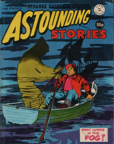 Cover for Astounding Stories (Alan Class, 1966 series) #189