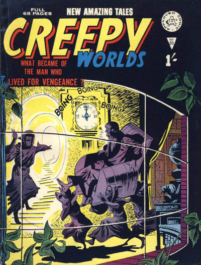 Cover for Creepy Worlds (Alan Class, 1962 series) #50
