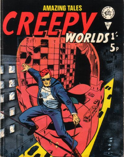 Cover for Creepy Worlds (1962 series) #117
