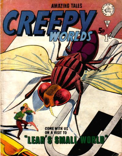 Cover for Creepy Worlds (Alan Class, 1962 series) #118