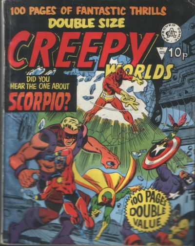 Cover for Creepy Worlds (Alan Class, 1962 series) #125
