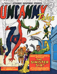 Cover Thumbnail for Uncanny Tales (Alan Class, 1963 series) #21