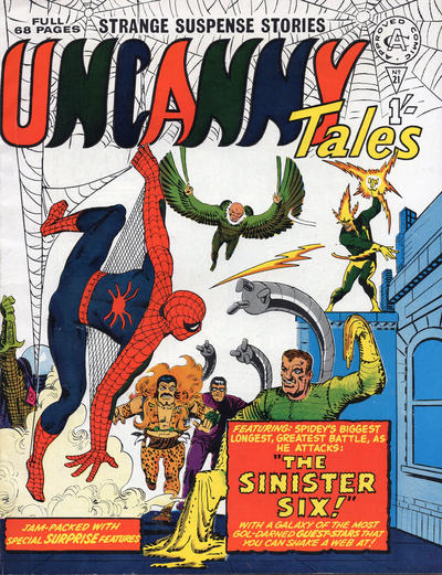 Cover for Uncanny Tales (Alan Class, 1963 series) #21