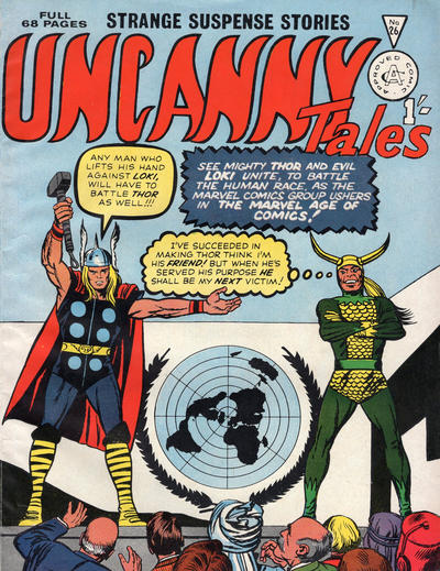 Cover for Uncanny Tales (Alan Class, 1963 series) #26