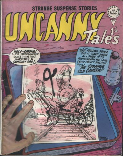 Cover for Uncanny Tales (Alan Class, 1963 series) #69
