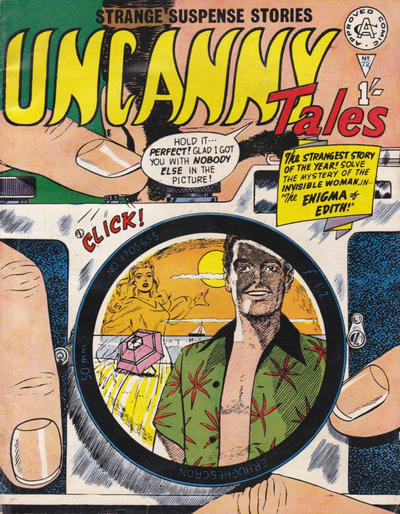 Cover for Uncanny Tales (1963 series) #72